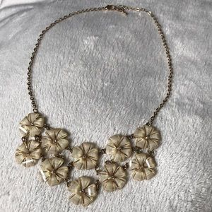 • Statement Flower Necklace •